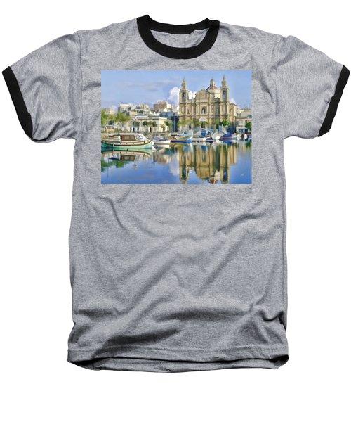 Harborside Msida Malta Baseball T-Shirt