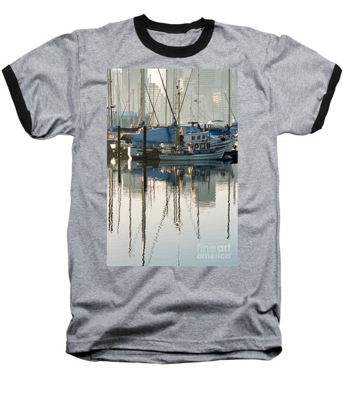 Harbour Fishboats Baseball T-Shirt