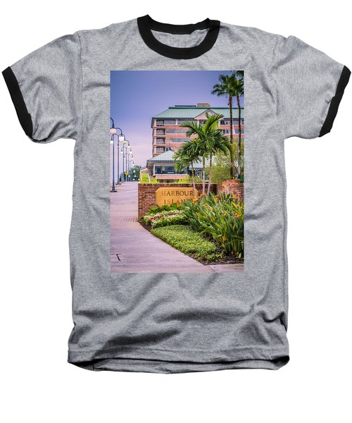 Harbour Island Retreat Baseball T-Shirt