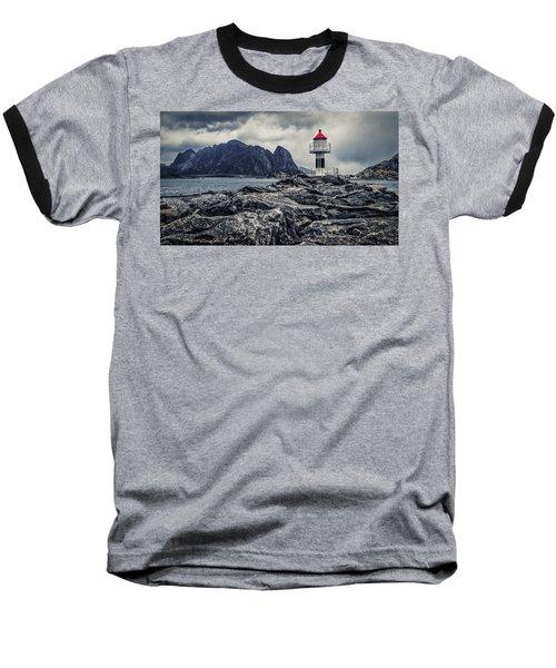 Harbour Lighthouse Baseball T-Shirt