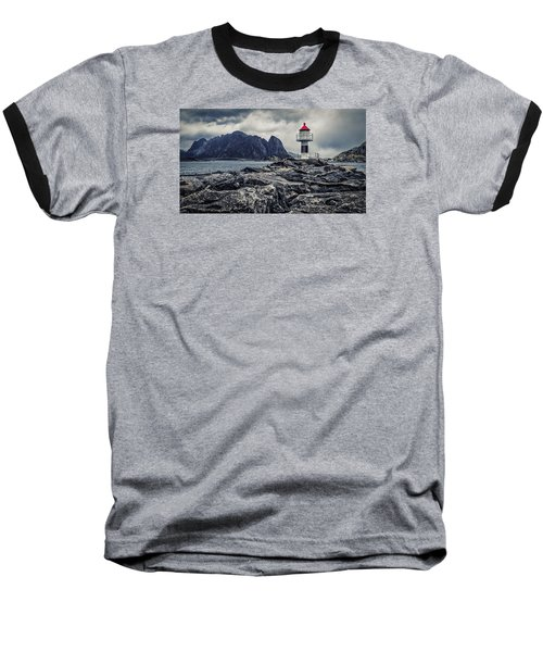 Harbour Lighthouse Baseball T-Shirt
