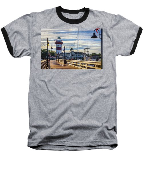 Harbour Town Lighthouse Baseball T-Shirt