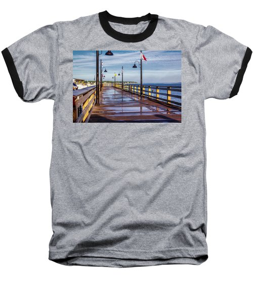 Harbour Town Pier Baseball T-Shirt