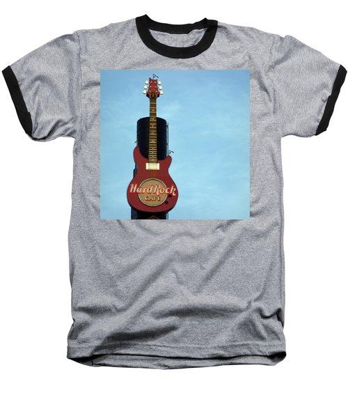 Hard Rock Cafe Baseball T-Shirt by Joseph Skompski