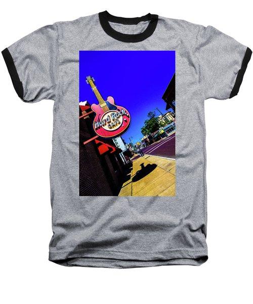 Hard Rockin On Beale Baseball T-Shirt