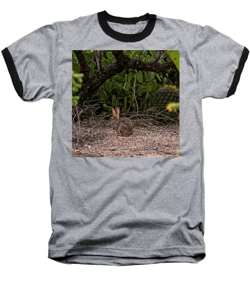 Baseball T-Shirt featuring the photograph Hare Habitat H22 by Mark Myhaver
