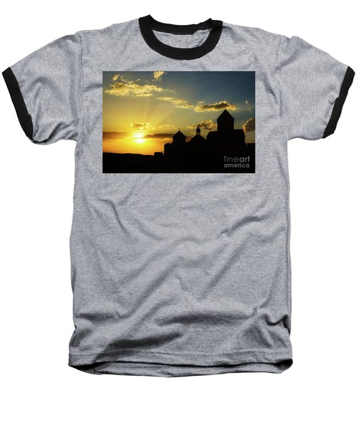 Harichavank Monastery At Sunset, Armenia Baseball T-Shirt