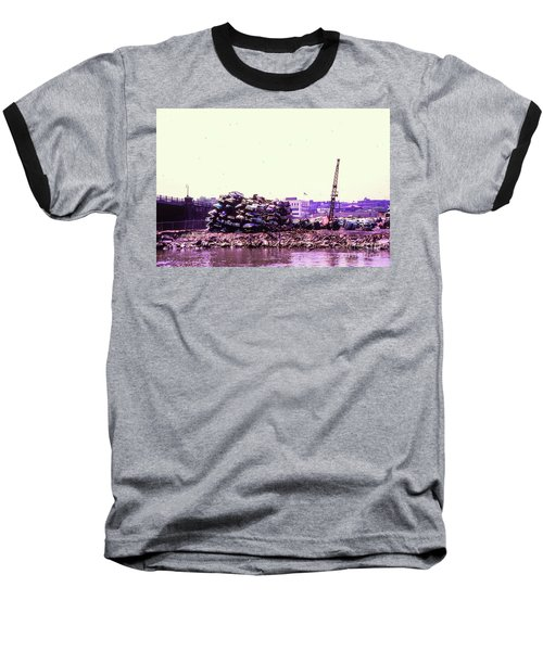 Harlem River Junkyard Baseball T-Shirt by Cole Thompson