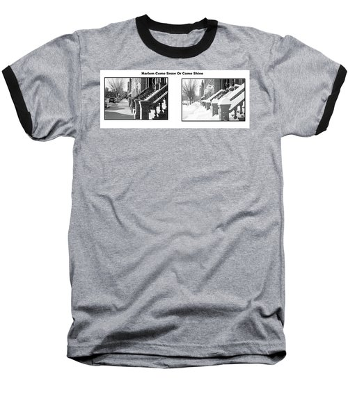 Harlem Summer Winter Baseball T-Shirt