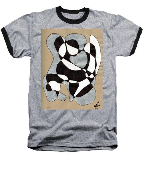 Harlequin Abtracted Baseball T-Shirt