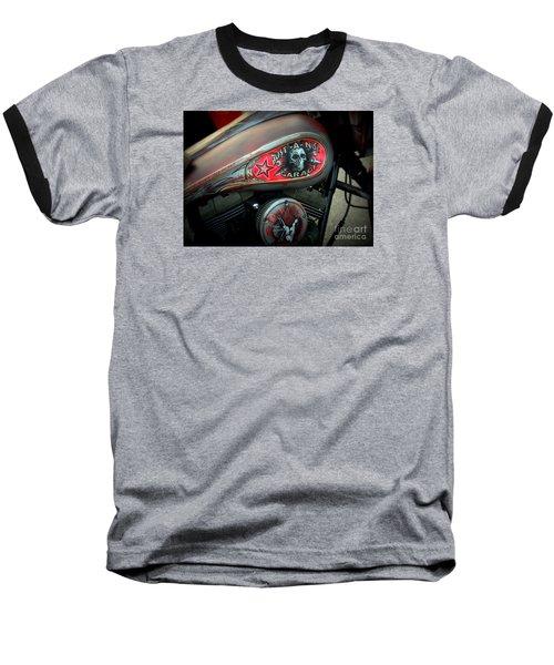 Harley 1 Baseball T-Shirt