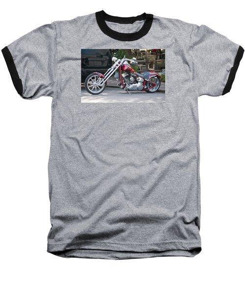 Harley Chopped Baseball T-Shirt