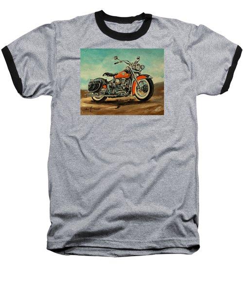 Harley Davidson 1956 Flh Baseball T-Shirt
