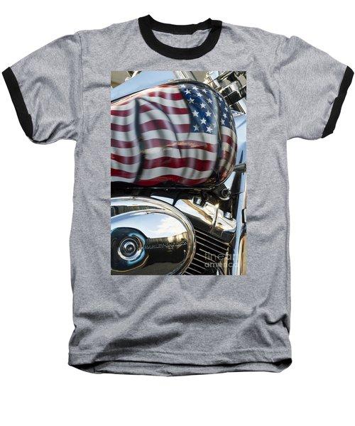 Harley Davidson 7 Baseball T-Shirt
