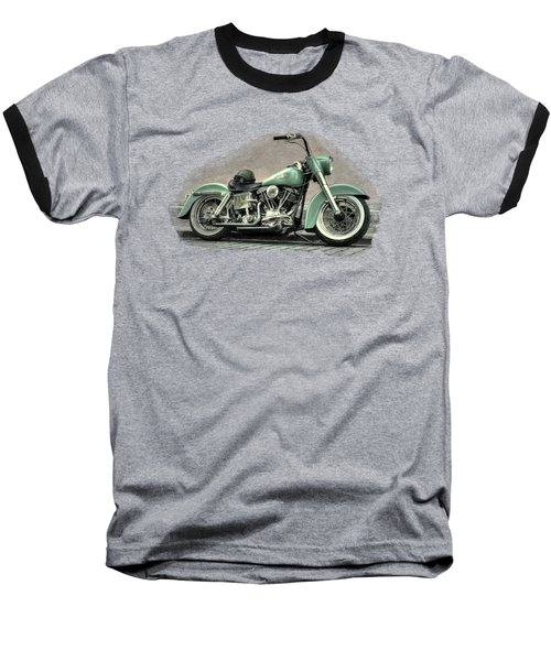 Harley Davidson Classic  Baseball T-Shirt by Movie Poster Prints
