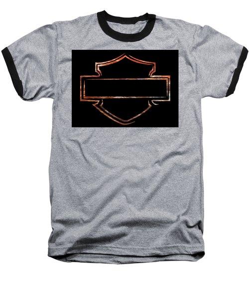 Harley Davidson  Baseball T-Shirt by Jamie Lynn