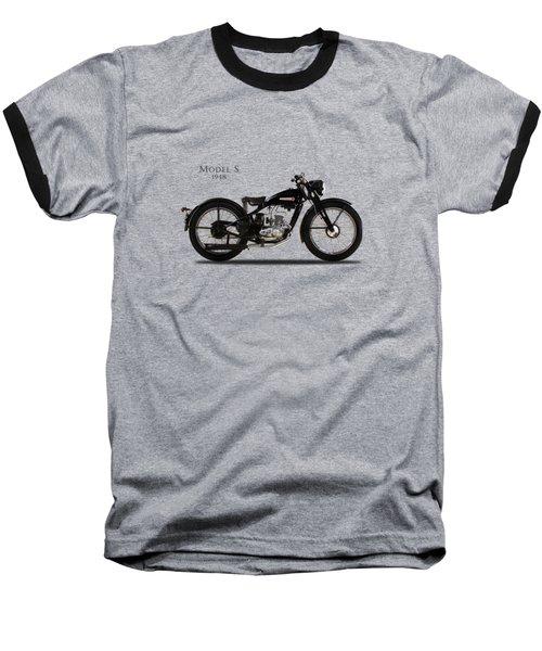 Harley-davidson Model S Baseball T-Shirt by Mark Rogan