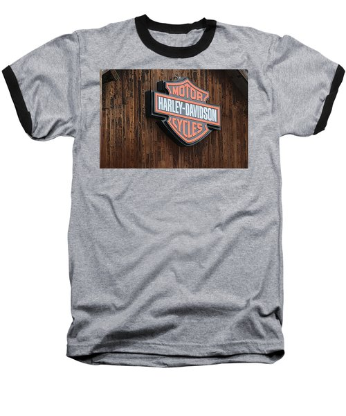 Harley Davidson Sign In West Jordan Utah Photograph Baseball T-Shirt