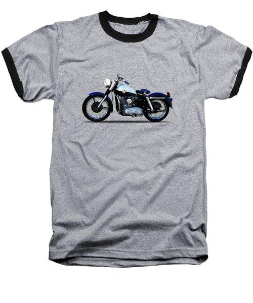Harley Davidson Sportster 1957 Baseball T-Shirt