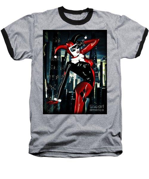 Harley Quinn Baseball T-Shirt