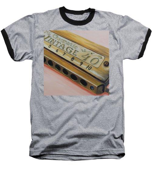 Harmonica Baseball T-Shirt