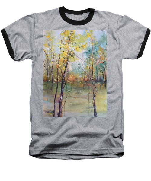Harmony In Perfect Key Baseball T-Shirt by Robin Miller-Bookhout