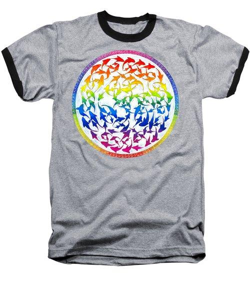 Harmony Baseball T-Shirt by Rebecca Wang