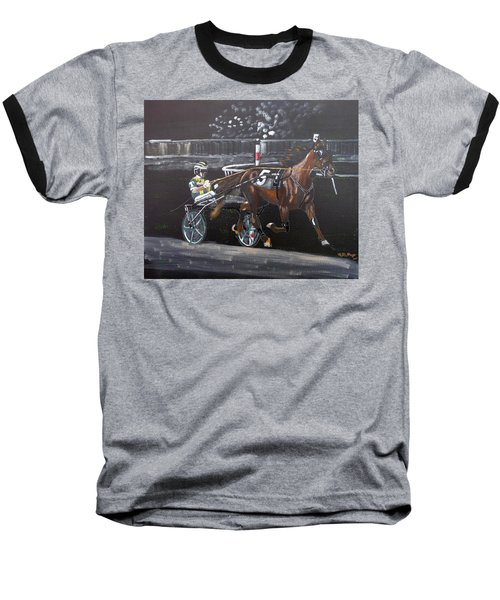 Harness Racing Baseball T-Shirt