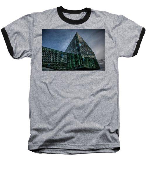 Harpa Baseball T-Shirt by Wade Courtney