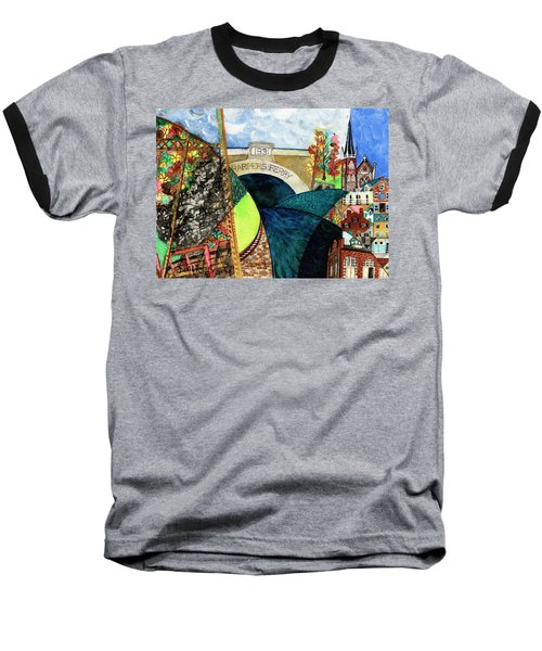 Harpers Ferry Rivers, Railroads, Revolvers Baseball T-Shirt