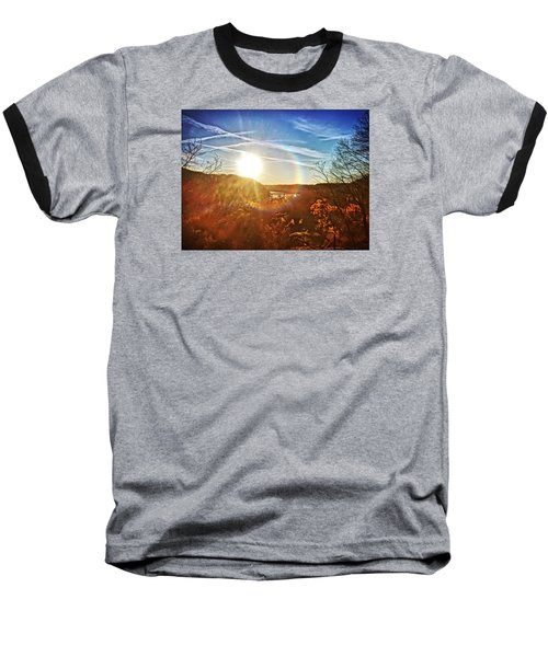 Harpers Ferry Sunset Baseball T-Shirt