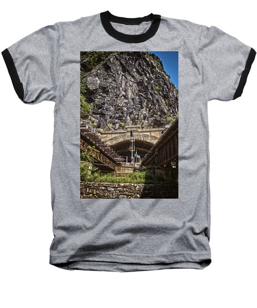 Harpers Ferry Tunnel Baseball T-Shirt