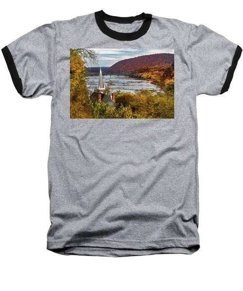Harpers Ferry, West Virginia Baseball T-Shirt