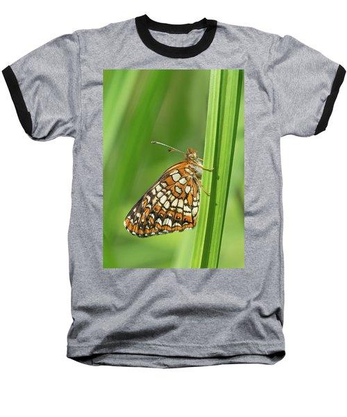 Harris' Checkerspot Baseball T-Shirt