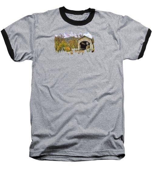 Harris Covered Bridge Baseball T-Shirt