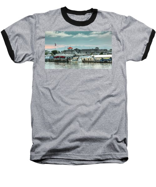 Harris Crab House Baseball T-Shirt