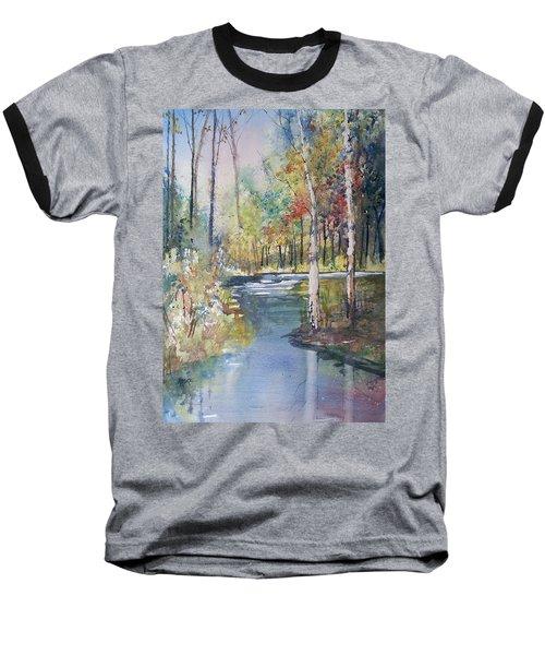 Hartman Creek Birches Baseball T-Shirt
