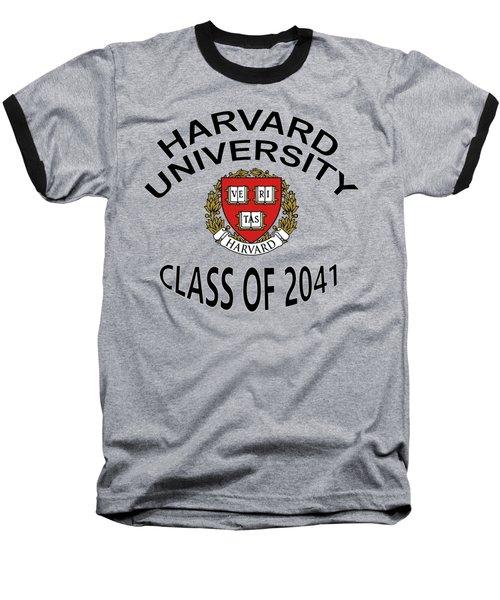Harvard University Class Of 2041 Baseball T-Shirt
