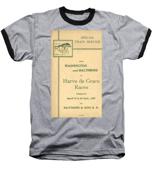 Harve De Grace Races Baseball T-Shirt