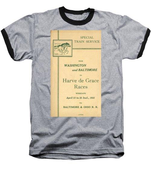 Harve De Grace Races Baseball T-Shirt