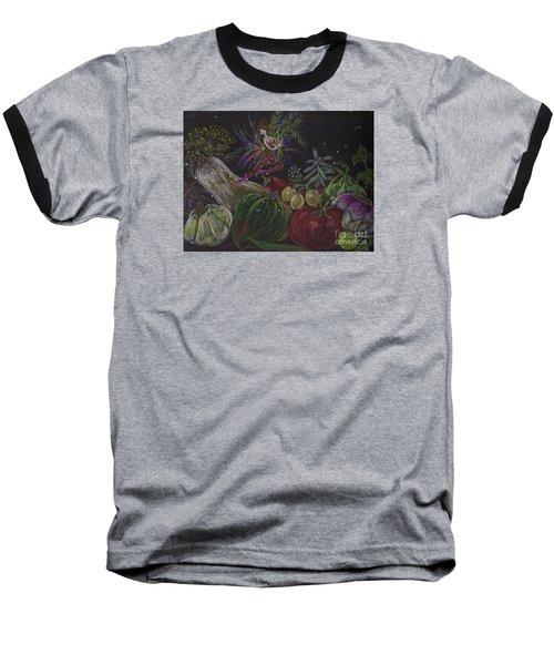 Harvest Baseball T-Shirt by Dawn Fairies