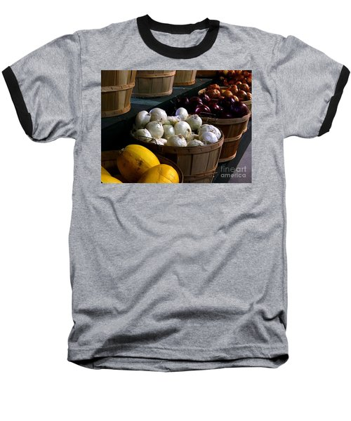 Baseball T-Shirt featuring the photograph Harvest by Elfriede Fulda