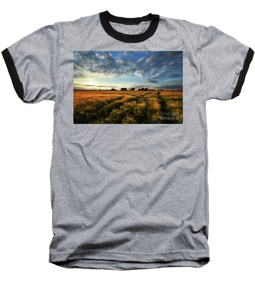 Baseball T-Shirt featuring the photograph Harvest by Franziskus Pfleghart