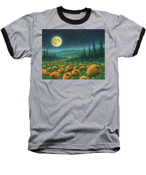 Harvest Moon 01 Baseball T-Shirt