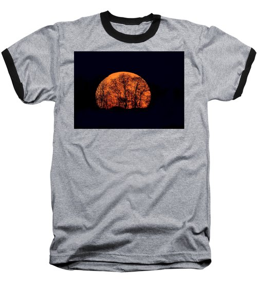 Harvest  Moon Rising Baseball T-Shirt