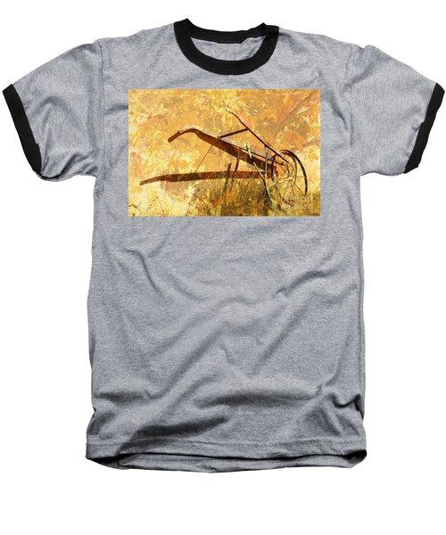 Harvest Plow Baseball T-Shirt