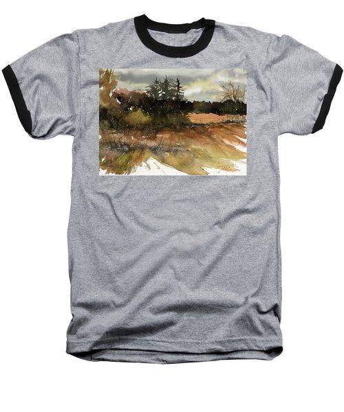 Harvest Snow Baseball T-Shirt