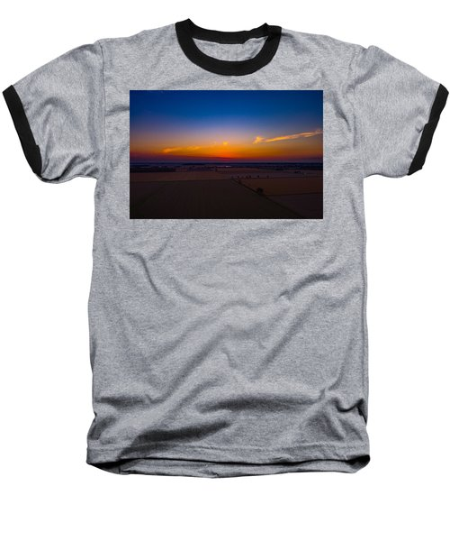 Harvest Sunrise Baseball T-Shirt