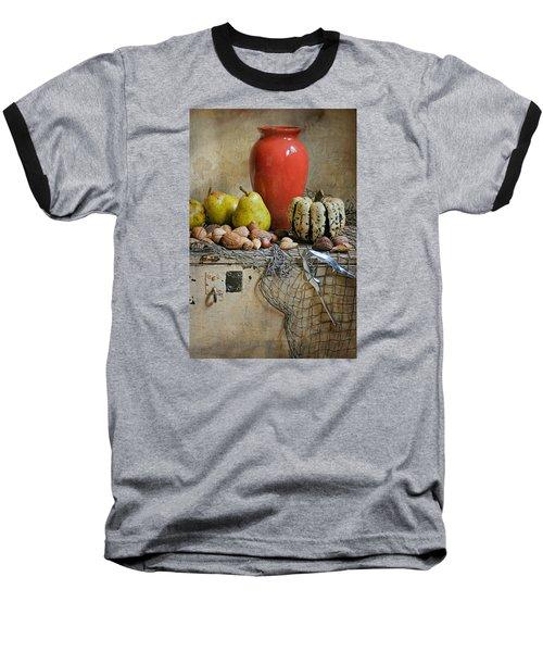 Harvest Vase Baseball T-Shirt by Diana Angstadt