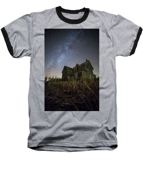 Baseball T-Shirt featuring the photograph Harvested  by Aaron J Groen